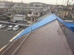 南大阪 屋根塗装1